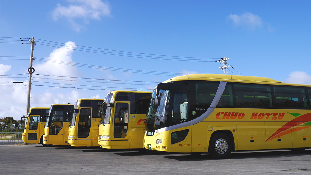 Miyako Island Sales Office bus