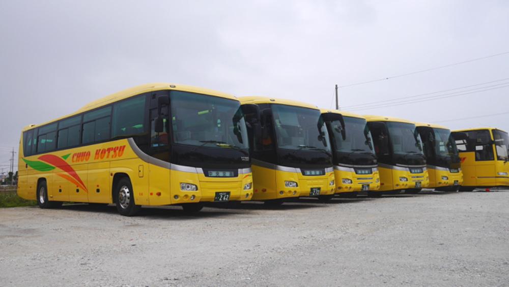 Okinawa Head Office bus