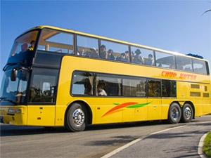 2階建てオープントップバス導入 バス車両